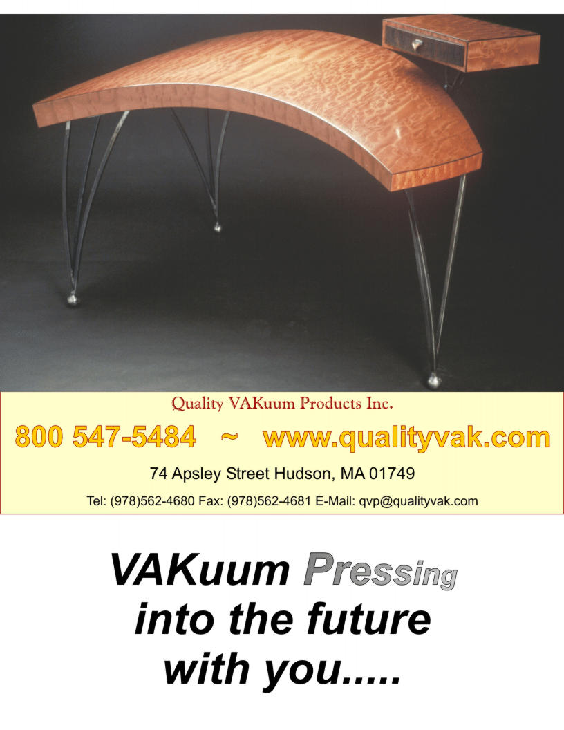 Quality VAKuum Products Brochure Page 1