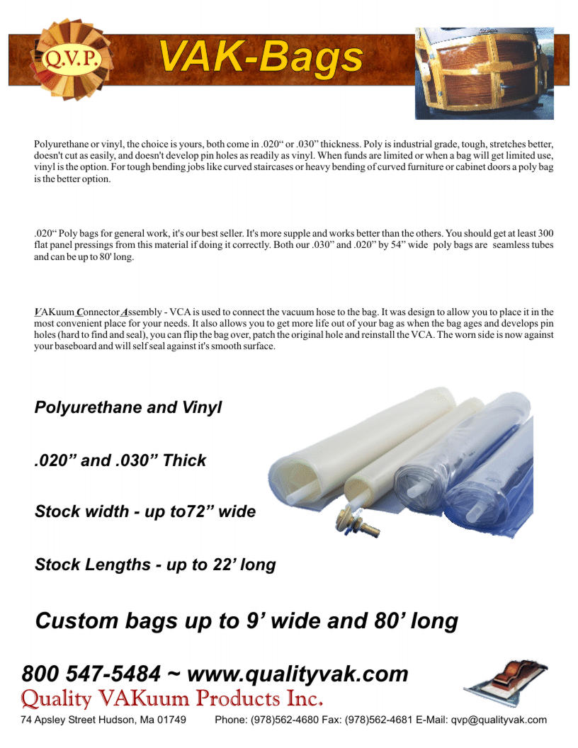 Quality VAKuum Products Brochure Page 10