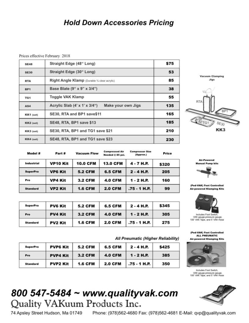 Quality VAKuum Products Brochure Page 15
