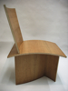 bent laminated and veneered chair by lincoln eash high school