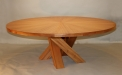 Veneered table by Jacek Ryszka of Wood Signature Creations